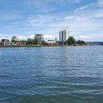 vista desde el rio valdivia