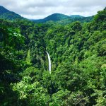 La Fortuna Waterfall which is 3km up the road from Casa Luna