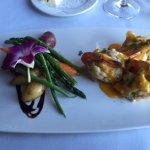 Grilled stuffed shrimp