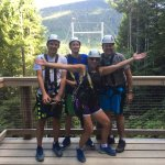 Must do the Sasquatch Zipline in Whistler! 80 MPH, Right from the Village, Steps from the Westin