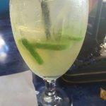 Food was amazing:) jalapeño margarita.