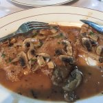 Veal with mushroom - plenty of sauce