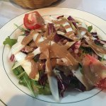 Mixed leaf side salad Italian style