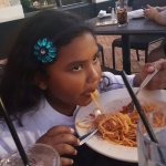 My daughters love cheesecake factory spaghetti plate!!