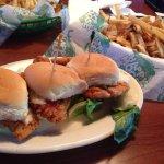 Buffalo Chicken Sliders - truly delish!