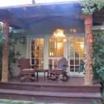 Private Porch off the Garden Room