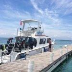 Belize Underwater Dive Boat