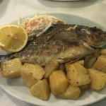 Food, seabass and seabream