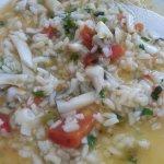 Razor clams rice - Act one!