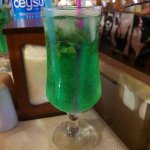 This lurid monstrosity was supposed to be a Mojito
