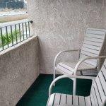 Balcony facing HWY 101