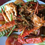 Superb Fried crab with pepper! Reasonable price.