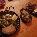 pork, saurkraut, cevapcici