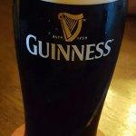 Superb Guinness in Lir Irish Pub.