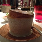 Grand Marnier Souffle for dessert in the Restaurant Gastronomique