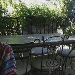 Veau corse aux olives et terrasse