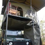 Land Rover Tent Babs Camp