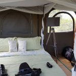 Bedroom above landrover