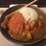 Pork cutlet curry and rice (Lunch Time Menu)