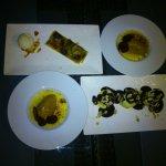 Desserts : Tarte maison - crème brûlée - profiteroles : un régal pour finir...