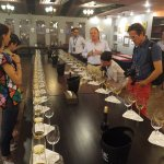 Tasting with the French winemaker Bruno Paumard