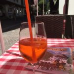 Aperol Spritz on the terrace