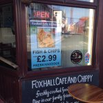 Well done Foxhall cafe