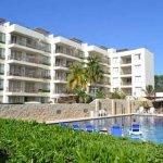 pool view Ixchel Beach Hotel
