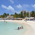 Playa Norte a front of Ixchel Beach Hotel