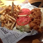 Shrimp Po Boy and Drunken Shrimp