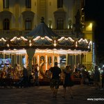 Piazza Della Republica - open late with 4 cafes, gelaterias