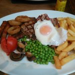 We stayed for 1 night. 20oz mixed grill for under £20 bargain, lovely place to stay just don't p