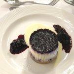 dessert-blueberry cheesecake