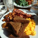 Delicious breakfast at Cafe Veneto
