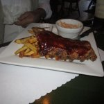 Half rack of ribs.