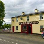 Our bar in the lovely village of Doohamlet.
