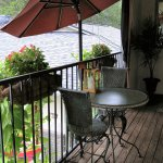 Outdoor Seating from Jacuzzi Suites