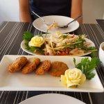Thai fishcakes (Tod man pla)
