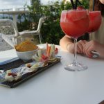 aperitivo on rooftop terrace