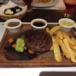 Helvetia Steak and chips