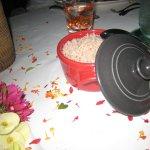 riz en accompagnement