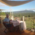 Déjeuner sur la terrasse: ça dit tout!