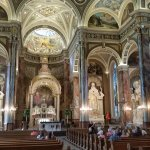 The gradeur of the Basilica of St. Josaphat