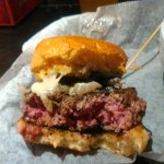 The Knuckleheads Brie burger. The best burger ever.