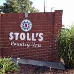 Stoll's Country Inn Road Sign 3