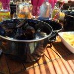 Un repas sympa au bord de la plage !