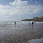 Il y avait de belles vagues ce jour là