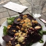 Huge beet salad- so good!