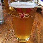 Drinks at the beer garden!