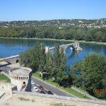 Pont St Benezet from the Rocher des Doms